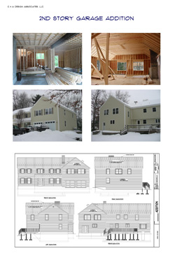 2nd Story Garage Addition. CLICK FOR PDF VERSION
